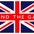 Mind The Gap UK Flag by FlagCity