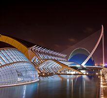 Ciutat de les Arts i les Ciències - Valencia by Luca Tranquilli