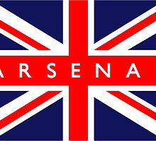Arsenal UK Flag			 by FlagCity