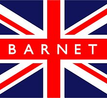 Barnet UK Flag	 by FlagCity