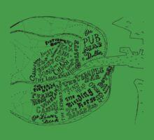 pub map of dublin by NimbusArt