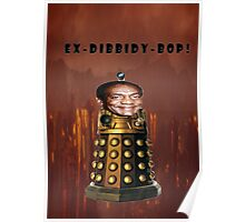 Bill Cosby Dalek Collection Poster