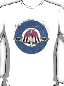Vintage Look Fighter Plane Supermarine Spitfire T-Shirt