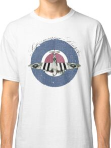 Vintage Look Fighter Plane Supermarine Spitfire Classic T-Shirt