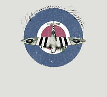 Vintage Look Fighter Plane Supermarine Spitfire Unisex T-Shirt