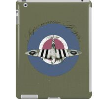 Vintage Look Fighter Plane Supermarine Spitfire iPad Case/Skin