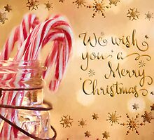Candy Cane Wishes by Pamela Holdsworth