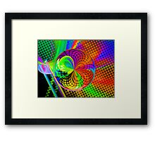 The Age of Disco Framed Print