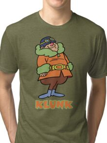 Klunk- Flying Machines Tri-blend T-Shirt