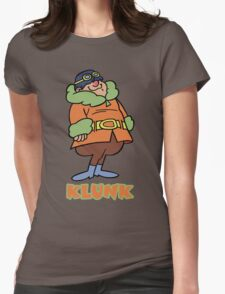 Klunk- Flying Machines Womens Fitted T-Shirt