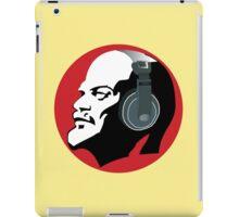 Lenin with Headphones iPad Case iPad Case/Skin