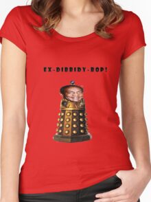 Bill Cosby Dalek Collection Women's Fitted Scoop T-Shirt