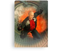 Explosion In The Hole Canvas Print