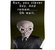 Run, You Clever....Oh Poster