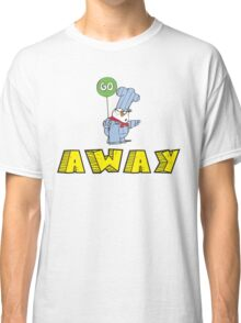 Go Away Angry Cat Classic T-Shirt