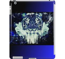 Tiger Melt iPad Case - Blue iPad Case/Skin