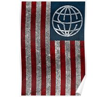 State Champs American Flag Design Poster