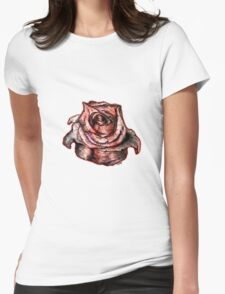 A Rose is A Rose Womens Fitted T-Shirt
