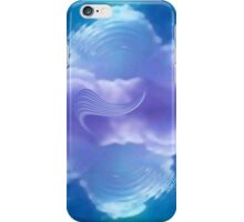 blue sphere 2 iPhone Case/Skin