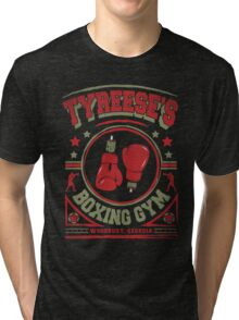 Tyreese's Boxing Gym Tri-blend T-Shirt