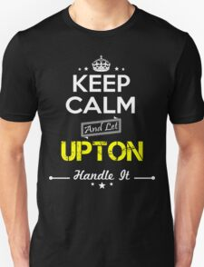 UPTON KEEP CLAM AND LET  HANDLE IT - T Shirt, Hoodie, Hoodies, Year, Birthday T-Shirt