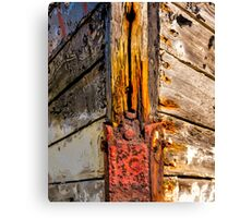 RUSTY BOW Canvas Print