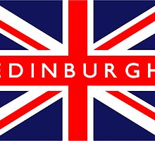 Edinburgh UK Flag			 by FlagCity