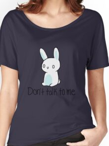 Antisocial bunny Women's Relaxed Fit T-Shirt