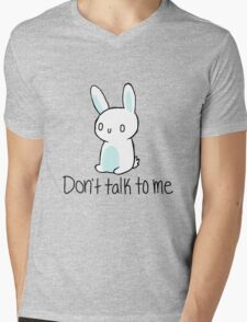 Antisocial bunny Mens V-Neck T-Shirt