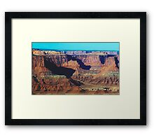 Bevy of Buttes Framed Print