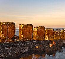 LOSSIEMOUTH - ANTI TANK BLOCKS by JASPERIMAGE
