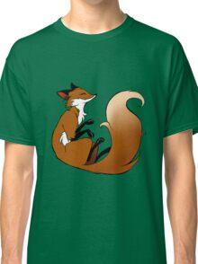 Cute Sleeping Fox Classic T-Shirt