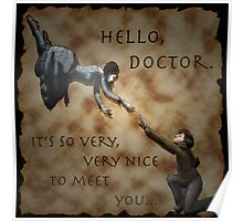 Hello, Doctor. Poster