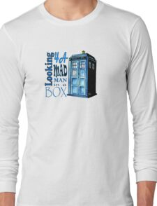 Looking 4A Mad Man In A Box Long Sleeve T-Shirt