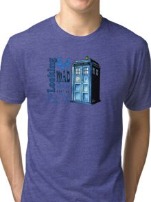 Looking 4A Mad Man In A Box Tri-blend T-Shirt