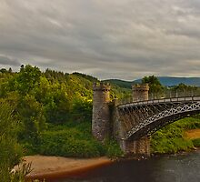 CRAIGELLACHIE BRIDGE - SPEY BEACH by JASPERIMAGE