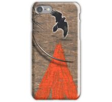 native crow iPhone Case/Skin