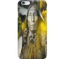 wolf robe iPhone Case/Skin