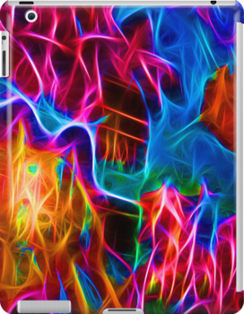 Stunning fractal high definition abstract ipad cases for Abstract art definition for kids