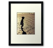 Beach Babe Framed Print