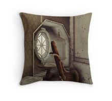 The Old Shabby Room Throw Pillow