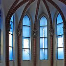 Church-window in Stralsund - Germany by Arie Koene