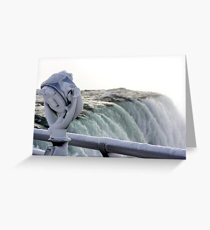 crystal gaze Greeting Card