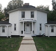 The Octagon House by Ryan Eberhart