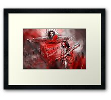 David Lee Roth and Eddie Van Halen Jump Framed Print