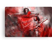 David Lee Roth and Eddie Van Halen Jump Canvas Print