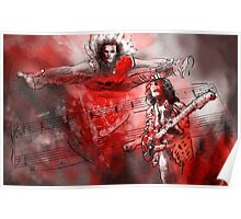 David Lee Roth and Eddie Van Halen Jump Poster
