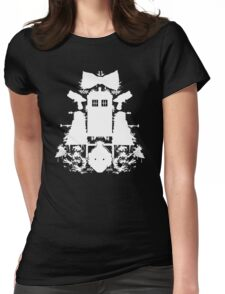 WHO do you see? Womens Fitted T-Shirt