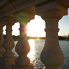 Sunset on the Charles River by Anna Hassett