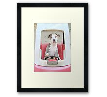 I'm On My Way Vivian! Framed Print